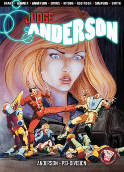 Cover for the Judge Anderson: Anderson, Psi-Division Trade Paperback