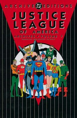 Cover for the Justice League of America Archives Vol. 7 Trade Paperback