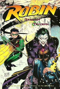 Cover for the Robin: Tragedy & Triumph Trade Paperback