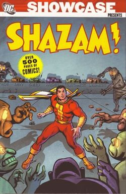 Cover for the Showcase Presents: Shazam! Vol. 1 Trade Paperback