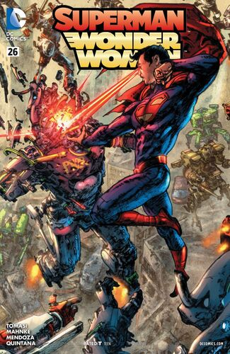 Justice League Triptych Variant
