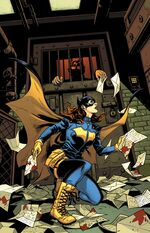 Batgirl vs James, Jr.