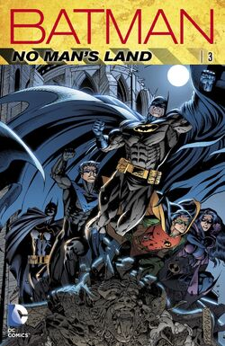 Cover for the Batman: No Man's Land Trade Paperback