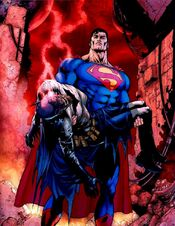 The death of Batman in Final Crisis