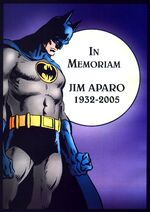 In Memoriam - Jim Aparo