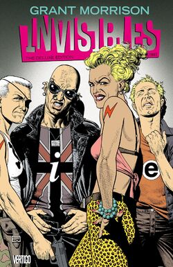 Cover for the Invisibles Deluxe Edition: Book Three Trade Paperback