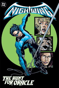 Cover for the Nightwing: The Hunt for Oracle Trade Paperback