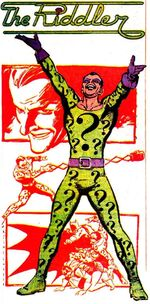 The Riddler's First Costume