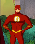 Barry Allen Harley Quinn TV Series 0001