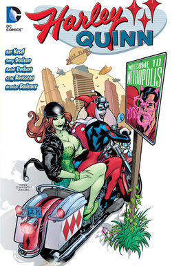 Cover for the Harley Quinn: Welcome to Metropolis Trade Paperback