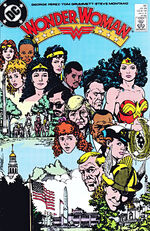 Wonder Woman and her extended family