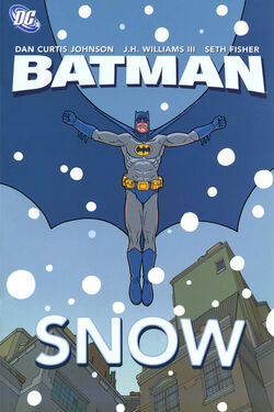 Cover for the Batman: Snow Trade Paperback