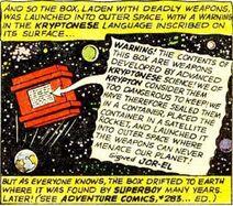 Kryptonian Weaponry Cache 001