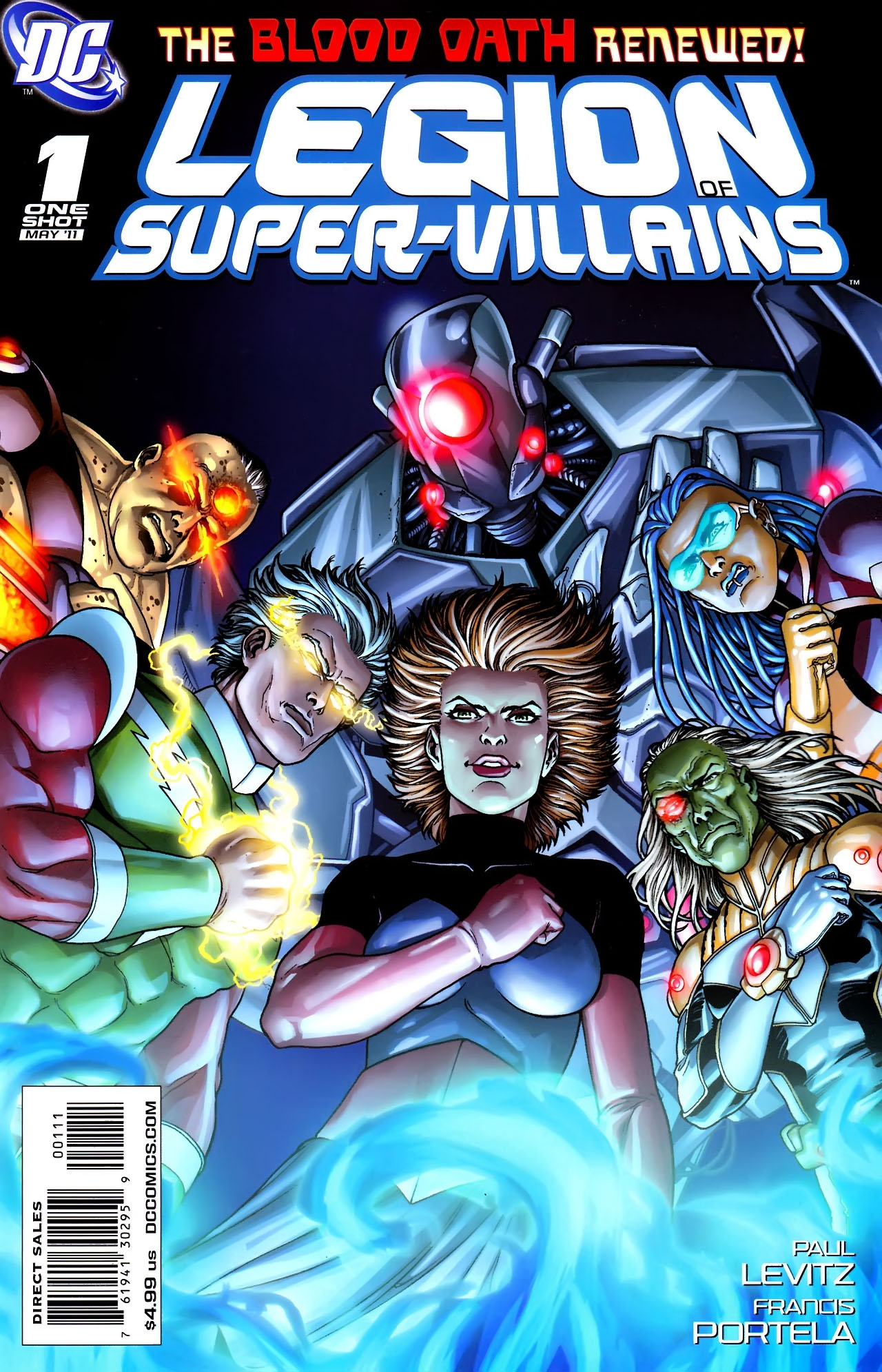 Legion Of Super Villains Vol 1