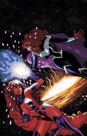 Starfire vs Blackfire
