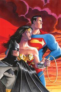 Batman Superman Wonder Woman Trinity