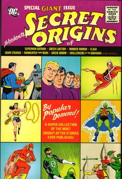 Cover for the DCU: Secret Origins Trade Paperback