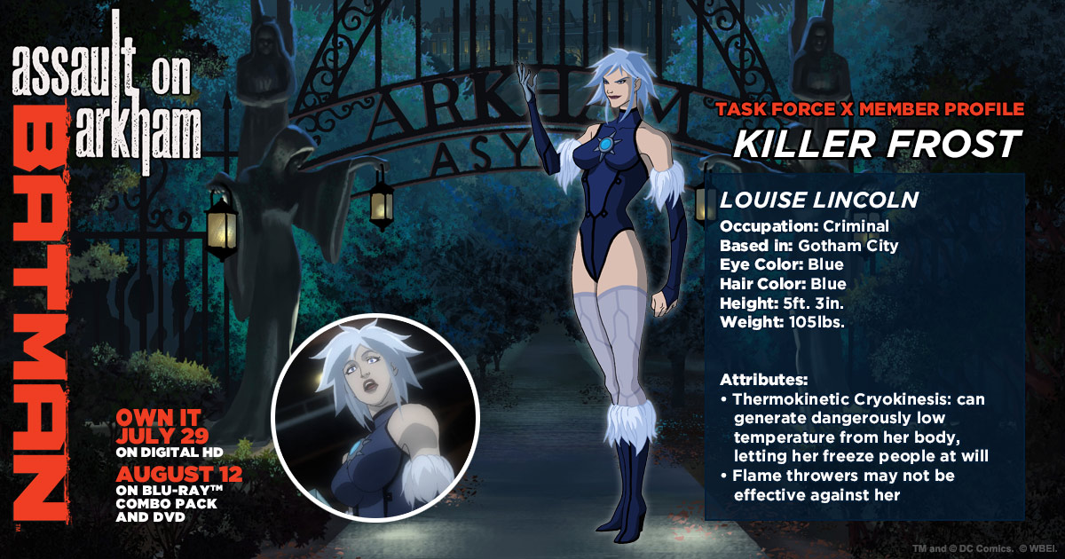 Killer Frost And King Shark