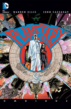 Cover for the Planetary Omnibus Trade Paperback