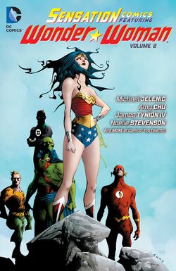 Cover for the Sensation Comics Featuring Wonder Woman Vol. 2 Trade Paperback