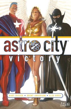 Cover for the Astro City: Victory Trade Paperback