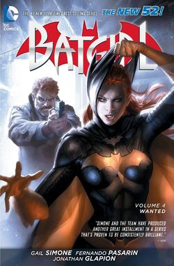Cover for the Batgirl: Wanted Trade Paperback