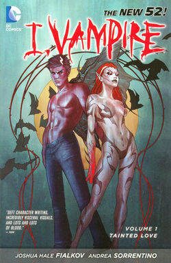 Cover for the I, Vampire: Tainted Love Trade Paperback