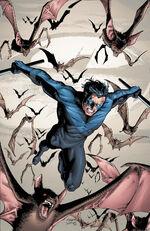 Nightwing returns to Gotham