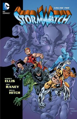 Cover for the StormWatch Vol. 2 Trade Paperback