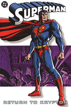 Cover for the Superman: Return to Krypton Trade Paperback