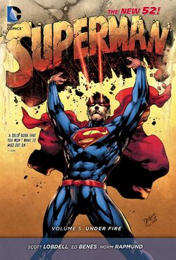 Cover for the Superman: Under Fire Trade Paperback