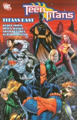 Cover for the Teen Titans: Titans East Trade Paperback