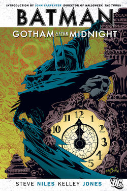 Cover for the Batman: Gotham After Midnight Trade Paperback
