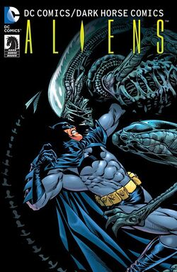Cover for the DC Comics/Dark Horse Comics: Aliens Trade Paperback