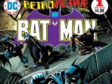 DC Retroactive: Batman-The '70s Vol 1 1