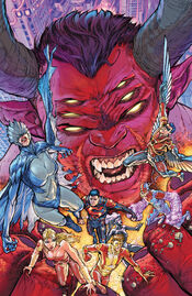 Trigon against the Titans.