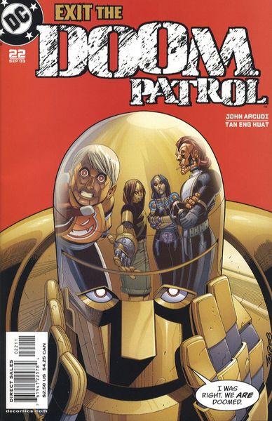 Doom Patrol Vol 3 22 Dc Database Fandom