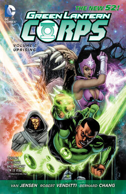Cover for the Green Lantern Corps: Uprising Trade Paperback