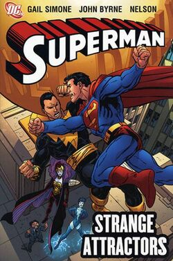 Cover for the Superman: Strange Attractors Trade Paperback