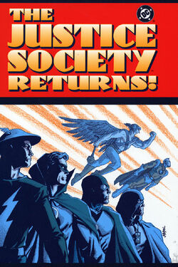 Cover for the The Justice Society Returns Trade Paperback