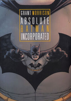 Cover for the Absolute Batman, Incorporated Trade Paperback