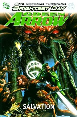 Cover for the Green Arrow: Salvation Trade Paperback