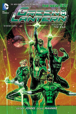 Cover for the Green Lantern: The End Trade Paperback