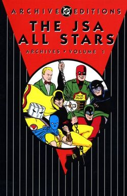 Cover for the The JSA All Stars Archives Vol. 1 Trade Paperback
