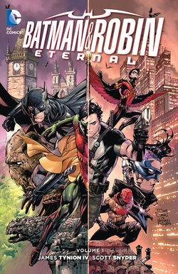 Cover for the Batman & Robin Eternal Vol. 1 Trade Paperback
