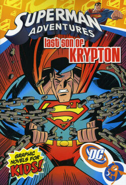 Cover for the Superman Adventures: The Last Son of Krypton Trade Paperback