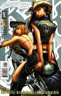 Danger Girl Back in Black Vol 1 1
