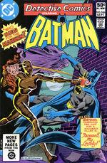 Batman fights Manikin