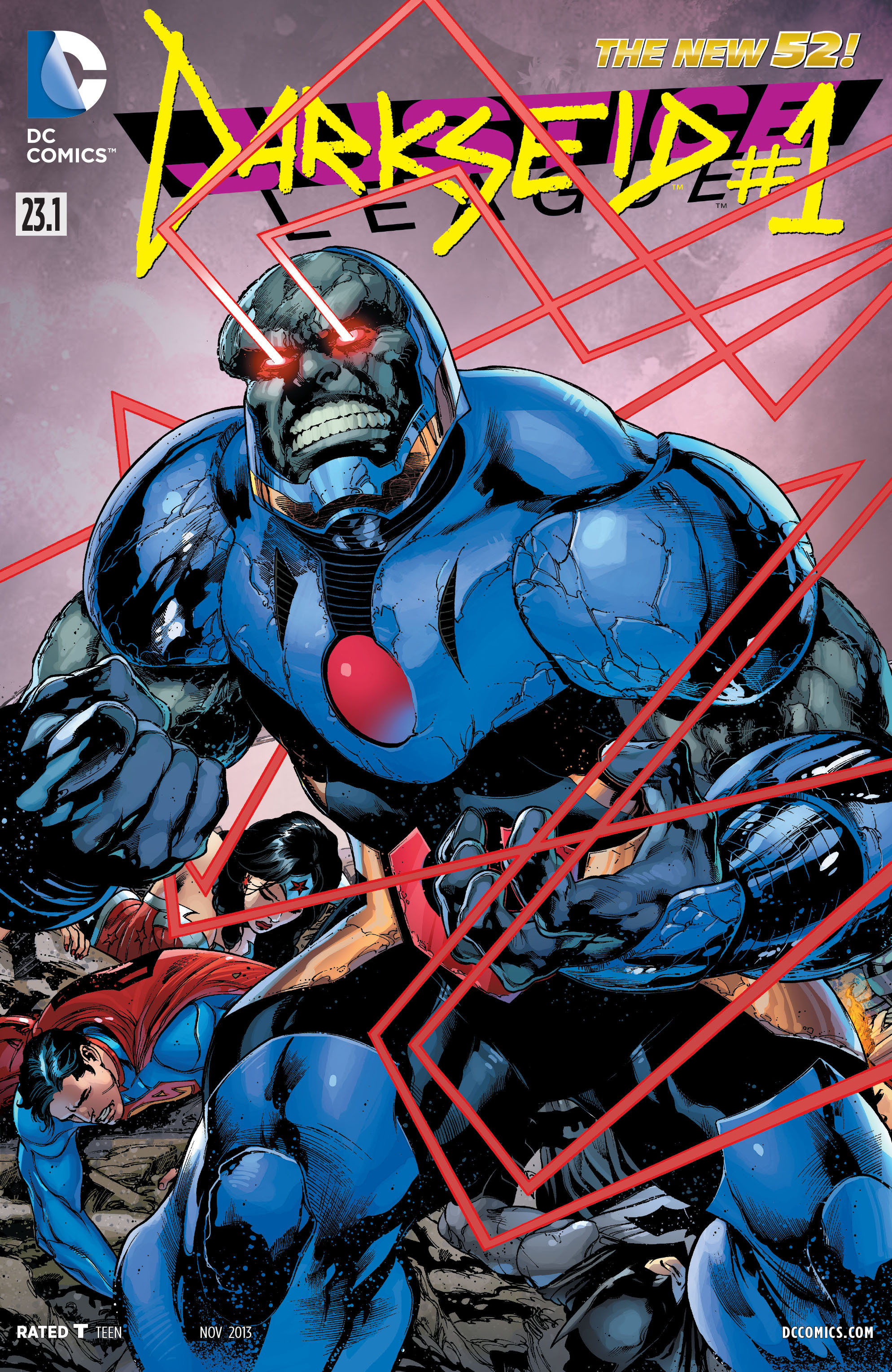 Justice League Vol 2 23.1: Darkseid   DC Database   FANDOM ...