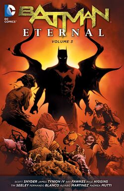 Cover for the Batman Eternal Vol. 3 Trade Paperback